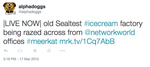 Meerkat screenshot