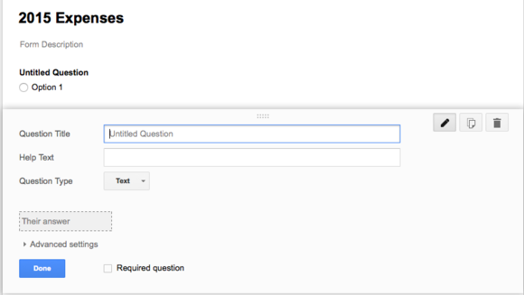 How to create an expense tracker with Google Forms and