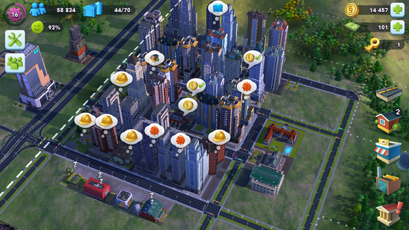 simcity demands