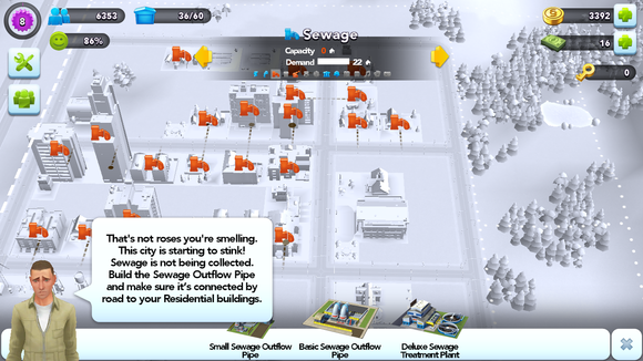 simcity levelup