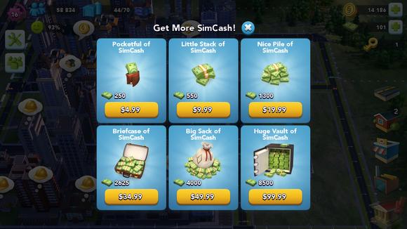 simcity spending