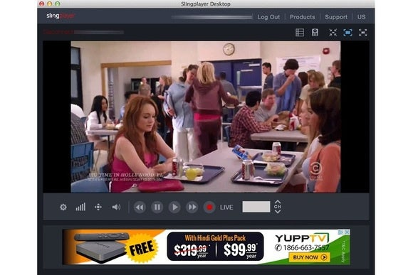 Slingbox's desktop player is now lousy with ads | TechHive
