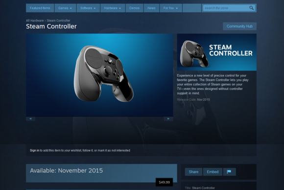 steam controller store