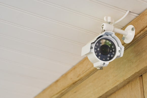 IP camera outdoors