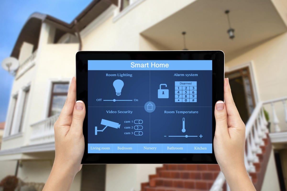 Home Automation with your best security system
