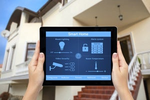 Smart home tablet