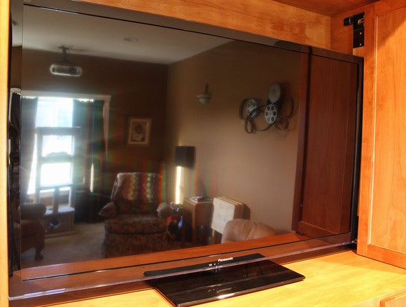 Reflections in an HDTV