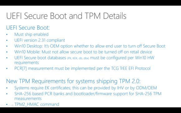 uefi secure boot windows 10