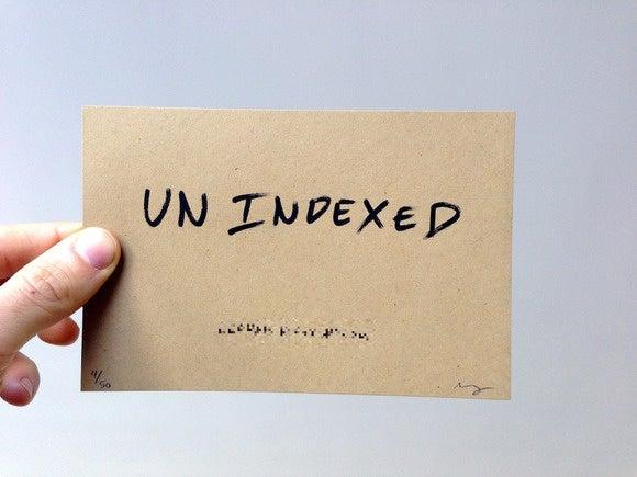 unindexed
