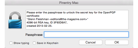 unlock my key