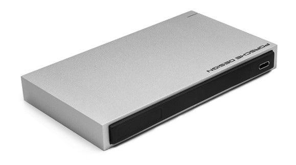 usb c lacie porsche mobile design usb type c portable storage device