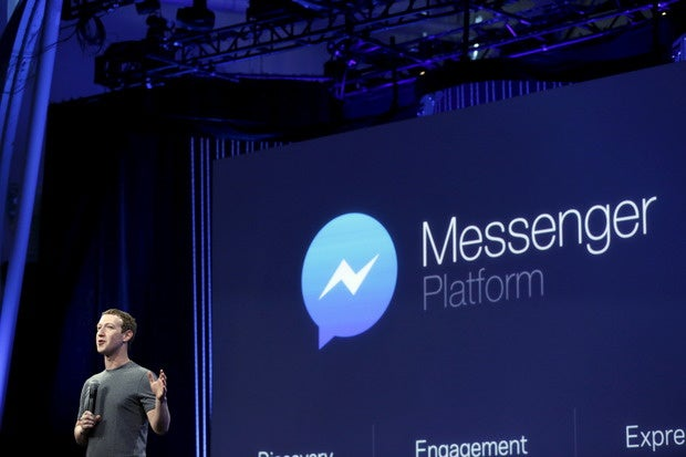 zuckerberg f8 messenger