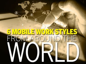 6 mobile work habits from around the world