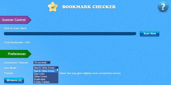 0514 chrome bookmark checker options