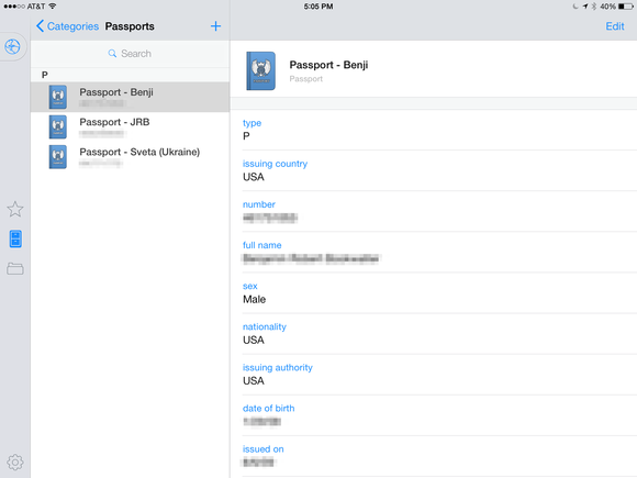 1password licenses