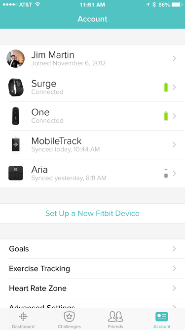 Fitbit Multi-Tracker Support