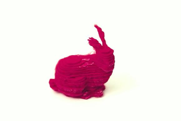 3d printed bunny
