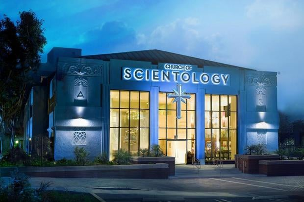 Scientology building in Los Angeles