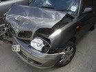 crashed car car crash