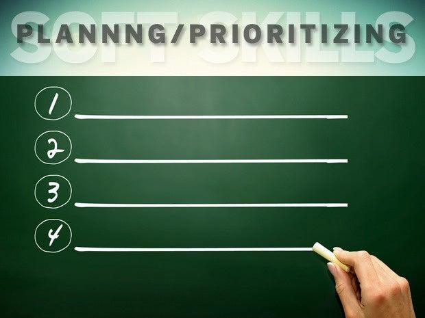 Planning and prioritizing