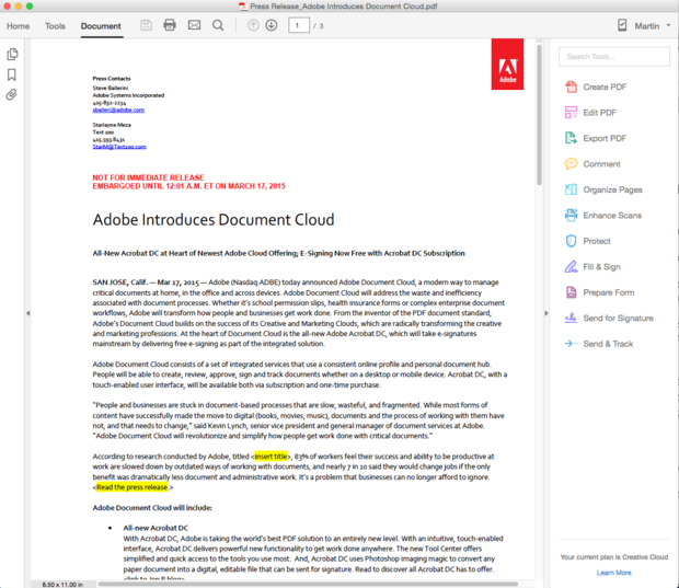 Review: Adobe Acrobat polishes its act | InfoWorld