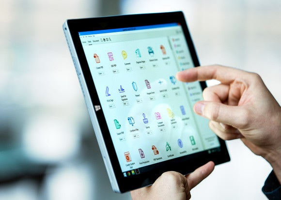 adobe acrobat dc desktop tools view on surface pro 3