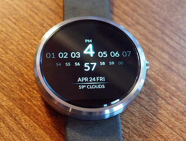 android wear watch faces minimal elegant
