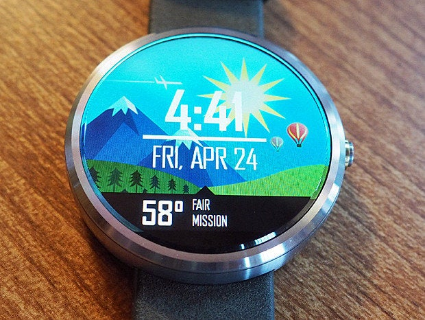 android wear watch faces now v2