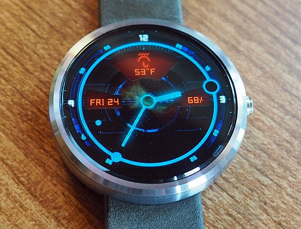 android wear watch faces orbit