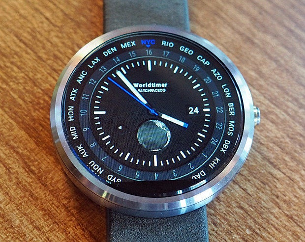 android wear watch faces world timer