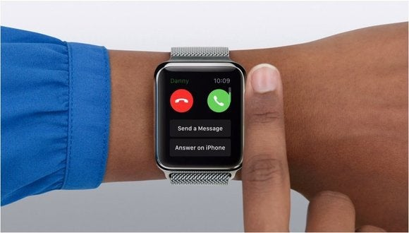 Apple Watch answer calls on iPhone