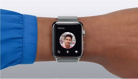 Calling a contact on the Apple Watch