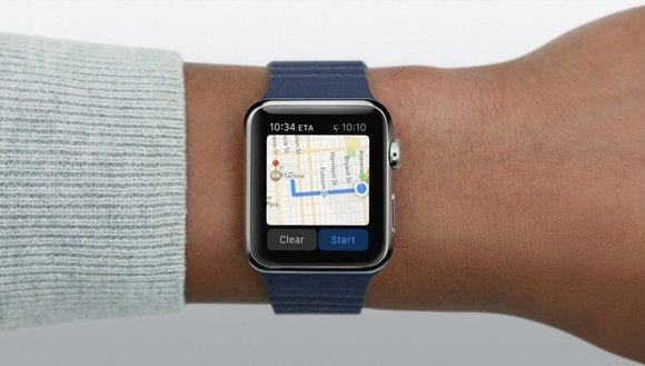 Apple Watch directions