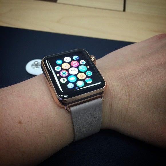 apple watch edition grey