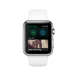 apple watch evernote