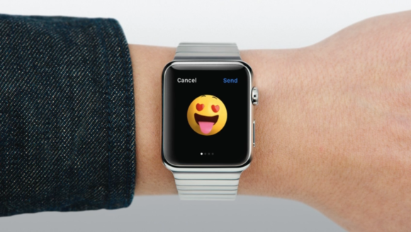 Apple Watch Messages emojis