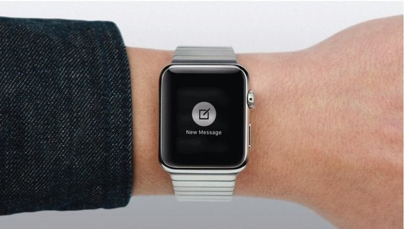 Apple Watch Messages new message