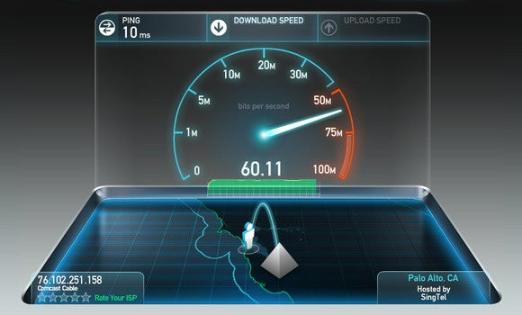 comcast speedtest