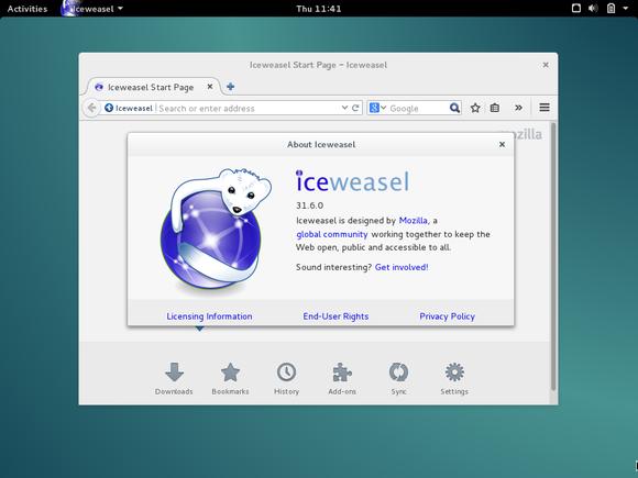 debian navegador iceweasel