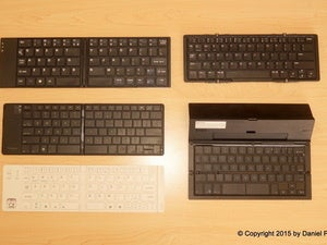 Pocketable productivity: 5 folding keyboards for your smartphone