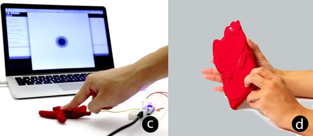Disney 3D-printed soft interactive objects