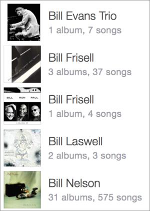 duplicate artists in iTunes