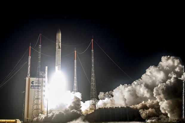 ESA launch of Ariane 5