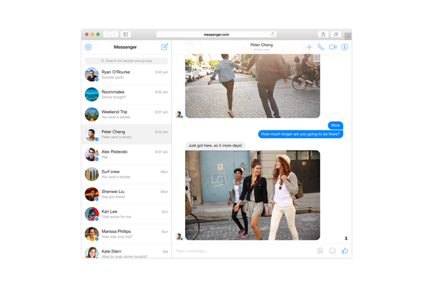 facebook messenger web