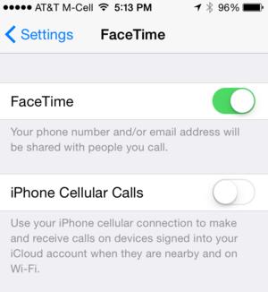 facetime 5