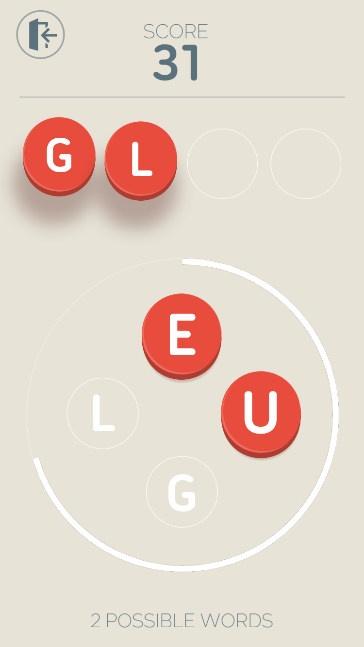 You Should Play Four Letters Gives You Seconds To Frantically