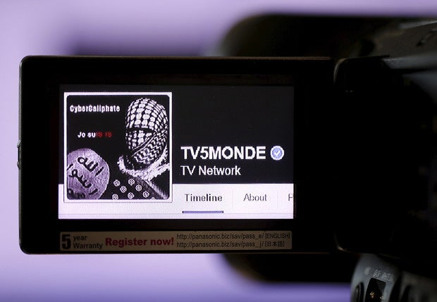 france tv cyberwarfare isis