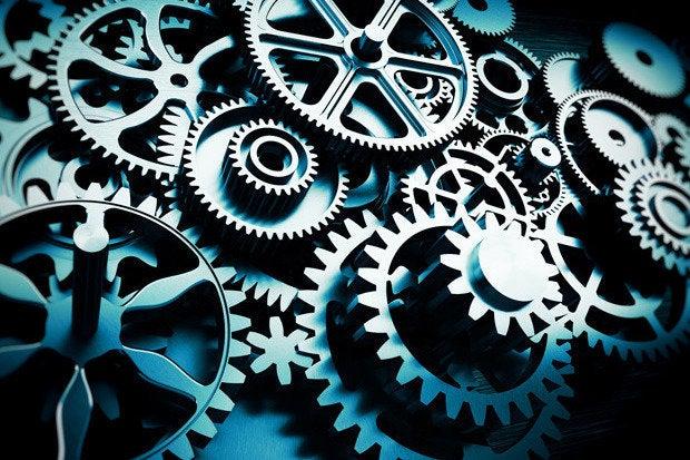 gears closeup