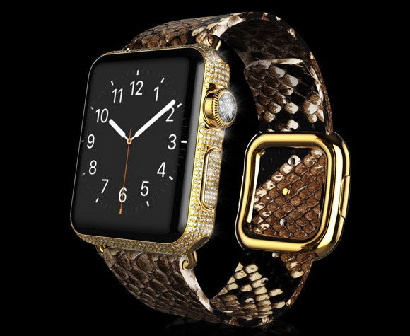 Goldgenie Gold Apple Watch Diamond Ecstasy Exotic