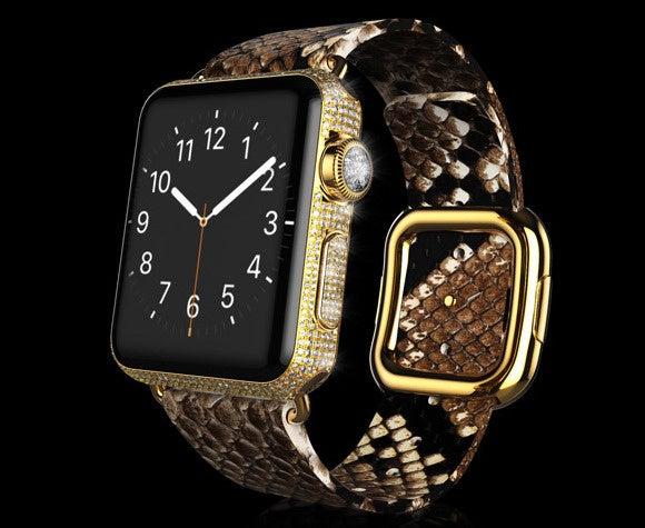 Goldgenie Gold Apple Watch Diamond Ecstasy Exotic